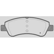 Pasticche freno anteriore CITROEN C3 PICASSO (02/09>) 1.4 VTi Mnv