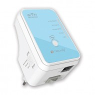 Mini Router Ripetitore WiFi 300Mbps Dual Band da Muro Repeater4